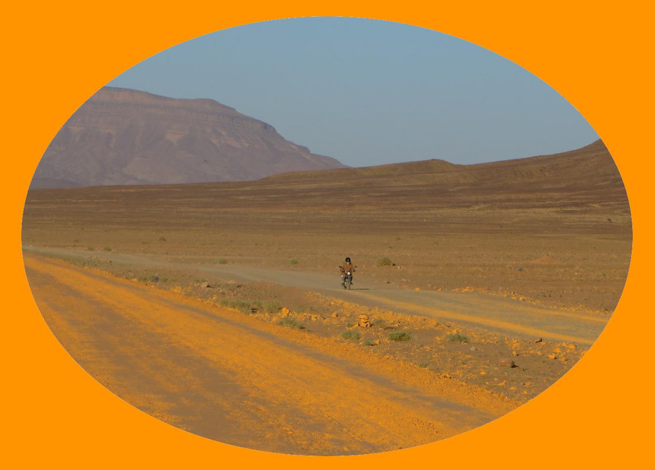 Wüstenfoto Marokko by Petra Gerhards